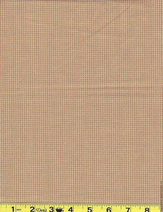 Шитье ручной работы. Ярмарка Мастеров - ручная работа. Купить 1268 Остаток.  Американская ткань. Handmade. Бежевый, ткань с рисунком