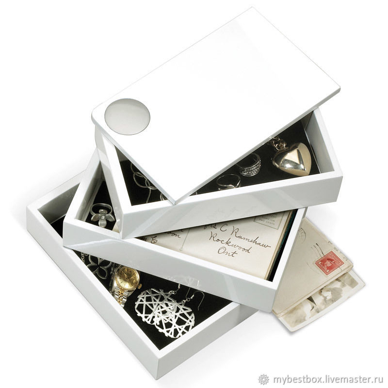 Spindle white box, Box, Moscow,  Фото №1
