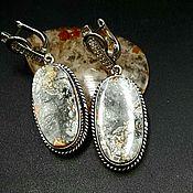 Украшения handmade. Livemaster - original item Maligano Jasper Earrings. Handmade.