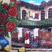 Картины и панно ручной работы. Ярмарка Мастеров - ручная работа Старый  Тбилиси. Handmade.