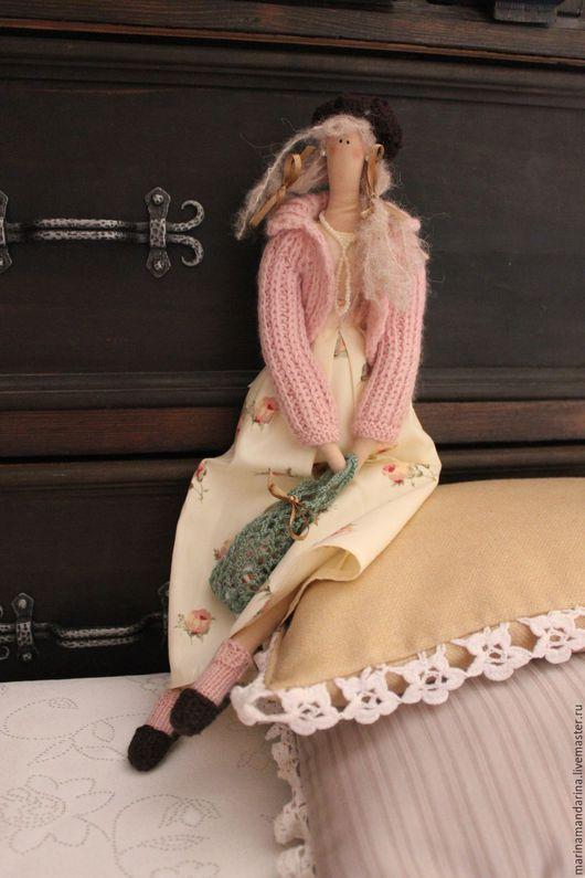Куклы Тильды ручной работы. Ярмарка Мастеров - ручная работа. Купить Авосечка - кукла в стиле Тильда. Handmade. Кремовый