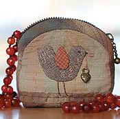 Сумки и аксессуары handmade. Livemaster - original item Japanese coin Bird. Handmade.