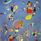 Картины и панно ручной работы. Ярмарка Мастеров - ручная работа Голубое небо. Handmade.