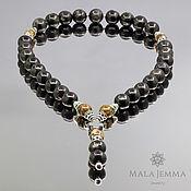 Украшения handmade. Livemaster - original item Rosary Bracelet Orthodox Rare Stone Aura Hypersthenes 12 mm. Handmade.