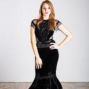 Одежда handmade. Livemaster - original item Black dress-transformer. Handmade.
