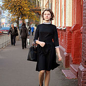 Одежда ручной работы. Ярмарка Мастеров - ручная работа Платье Художница. Handmade.