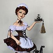 """Куклы и игрушки ручной работы. Ярмарка Мастеров - ручная работа """"Чашечку кофе?"""". Handmade."""