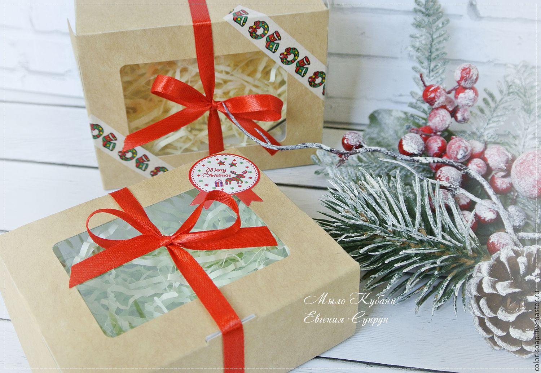Упаковка для новогодних подарков 57