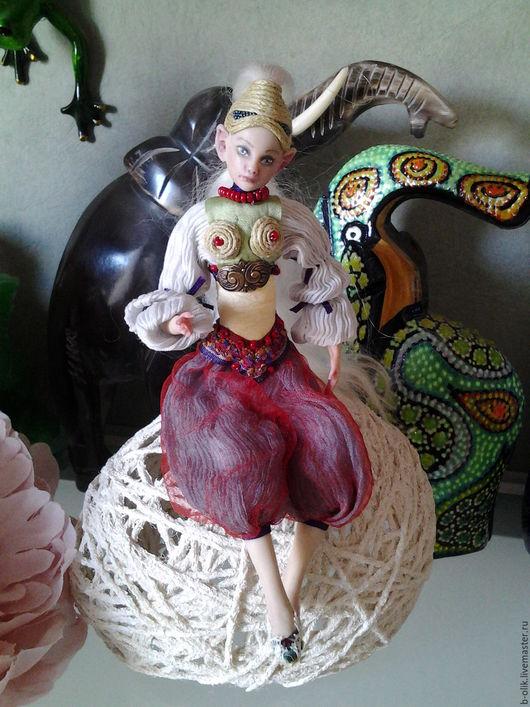 Коллекционные куклы ручной работы. Ярмарка Мастеров - ручная работа. Купить Восточный Эльф. Handmade. Комбинированный, кукла в подарок