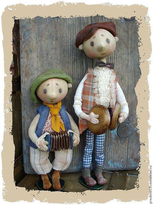 Коллекционные куклы ручной работы. Ярмарка Мастеров - ручная работа. Купить Мы -  бродячие артисты.... Handmade. Бродячие артисты, музыканты