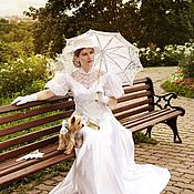 Одежда ручной работы. Ярмарка Мастеров - ручная работа Старинное свадебное платье. Handmade.