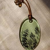 """Украшения ручной работы. Ярмарка Мастеров - ручная работа кулон """"Травы встретят тебя"""". Handmade."""