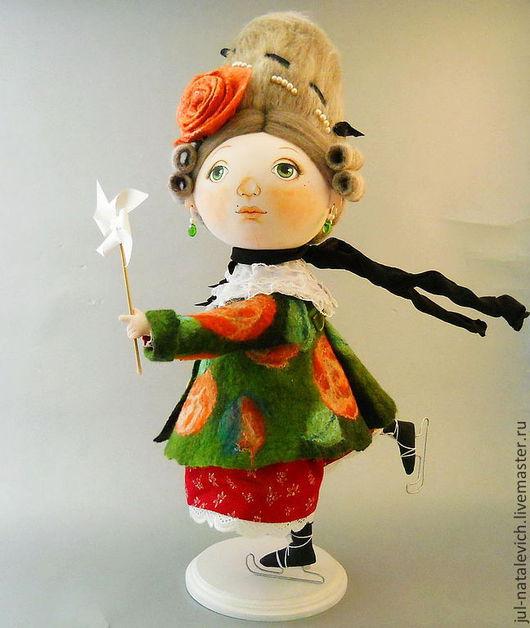 Обучающие материалы ручной работы. Ярмарка Мастеров - ручная работа. Купить Видео мастер класс по  текстильной кукле со поворачивающейся головой. Handmade.