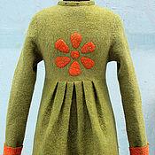 Одежда handmade. Livemaster - original item Coat of felt