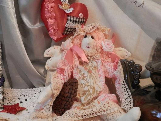 Куклы Тильды ручной работы. Ярмарка Мастеров - ручная работа. Купить тильда куклаСПЛЮШКА МЭРИ. Handmade. Бледно-розовый, детская