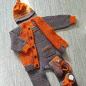 Работы для детей, handmade. Livemaster - original item Set the Orange in the chocolate. Handmade.
