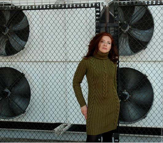 Вязаное платье, мастерская Woolcat