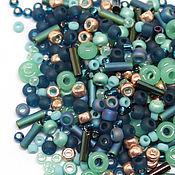 Бисер ручной работы. Ярмарка Мастеров - ручная работа Бисер Микс TOHO №3222 бирюзовый TOHO Beads 10гр. Handmade.