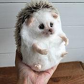 Куклы и игрушки handmade. Livemaster - original item Big plush hedgehog. Handmade.