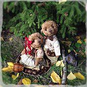 Куклы и игрушки ручной работы. Ярмарка Мастеров - ручная работа Три медведя. Тедди сказка.. Handmade.