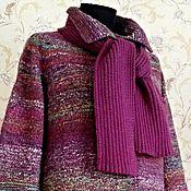 """Одежда ручной работы. Ярмарка Мастеров - ручная работа Пальто с шарфом """"Бэлла"""". Handmade."""