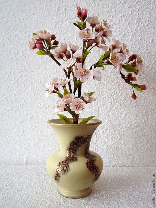 Интерьерные композиции ручной работы. Ярмарка Мастеров - ручная работа. Купить Ах, сакура, любви весенний цвет.... Handmade.