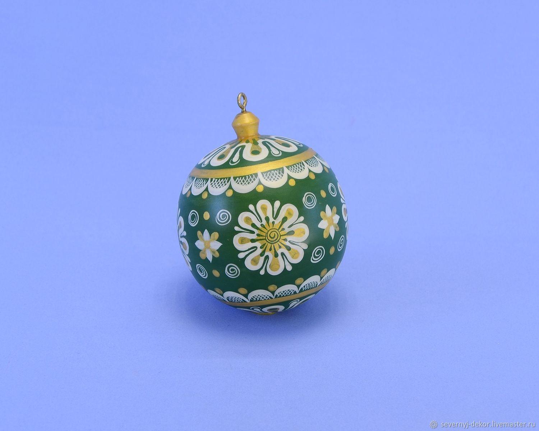 Шар ёлочный № 39, Елочные игрушки, Северодвинск,  Фото №1