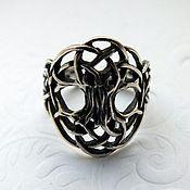 """Кольца ручной работы. Ярмарка Мастеров - ручная работа Кольцо """"Иггдрасиль""""- серебро 925. Handmade."""