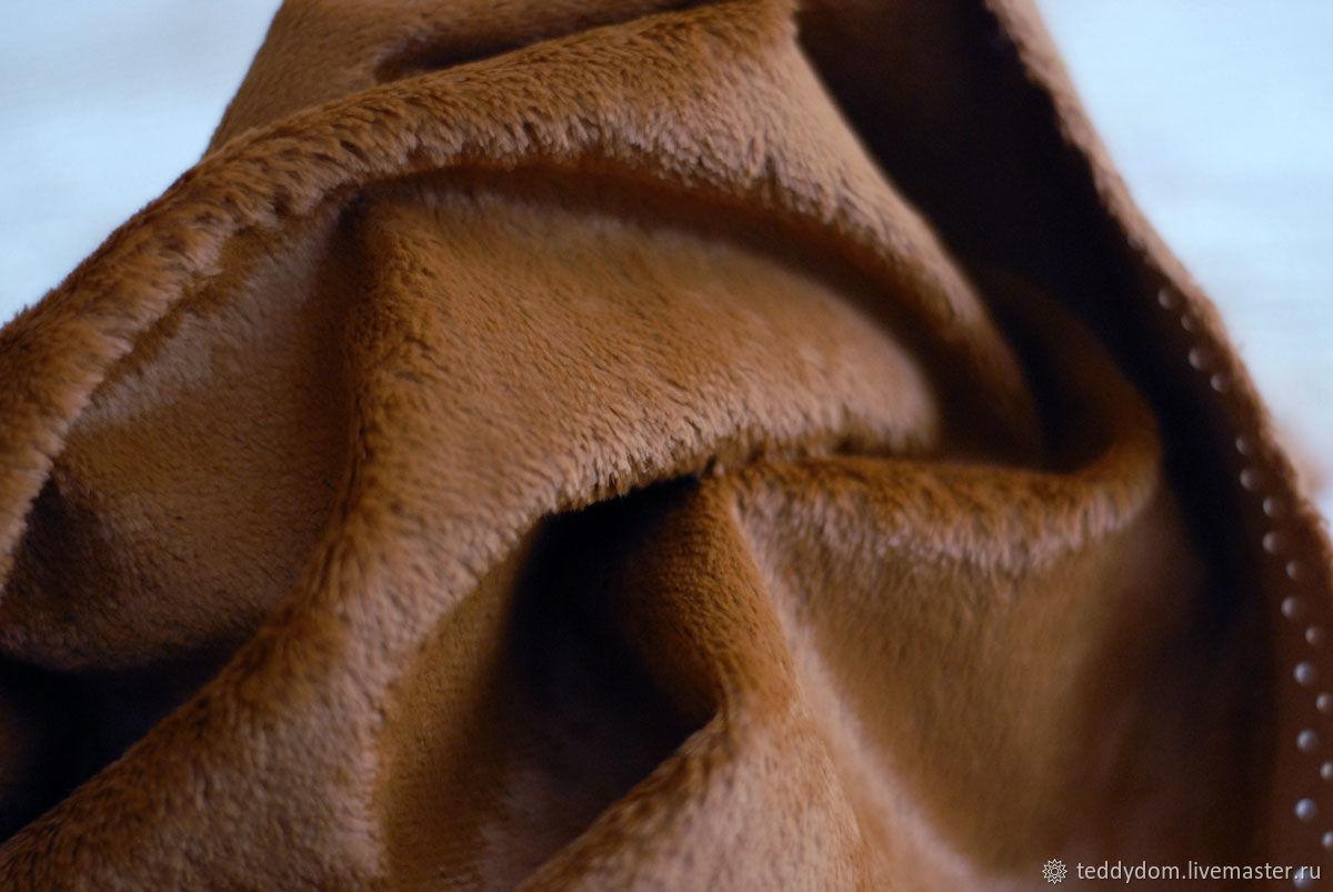 Вискоза Helmbold (Германия), гладкая Шоколад, Материалы для кукол и игрушек, Томск,  Фото №1