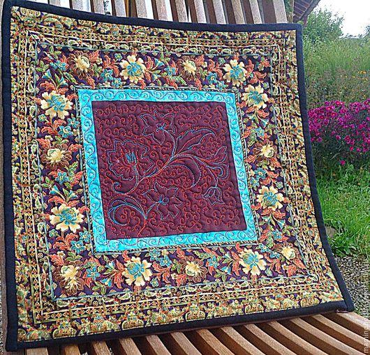 Текстиль, ковры ручной работы. Ярмарка Мастеров - ручная работа. Купить Подушка лоскутная Царевна. Handmade. Подарок на любой случай