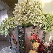 """Для дома и интерьера ручной работы. Ярмарка Мастеров - ручная работа Кашпо под цветы """"Винтаж"""". Handmade."""