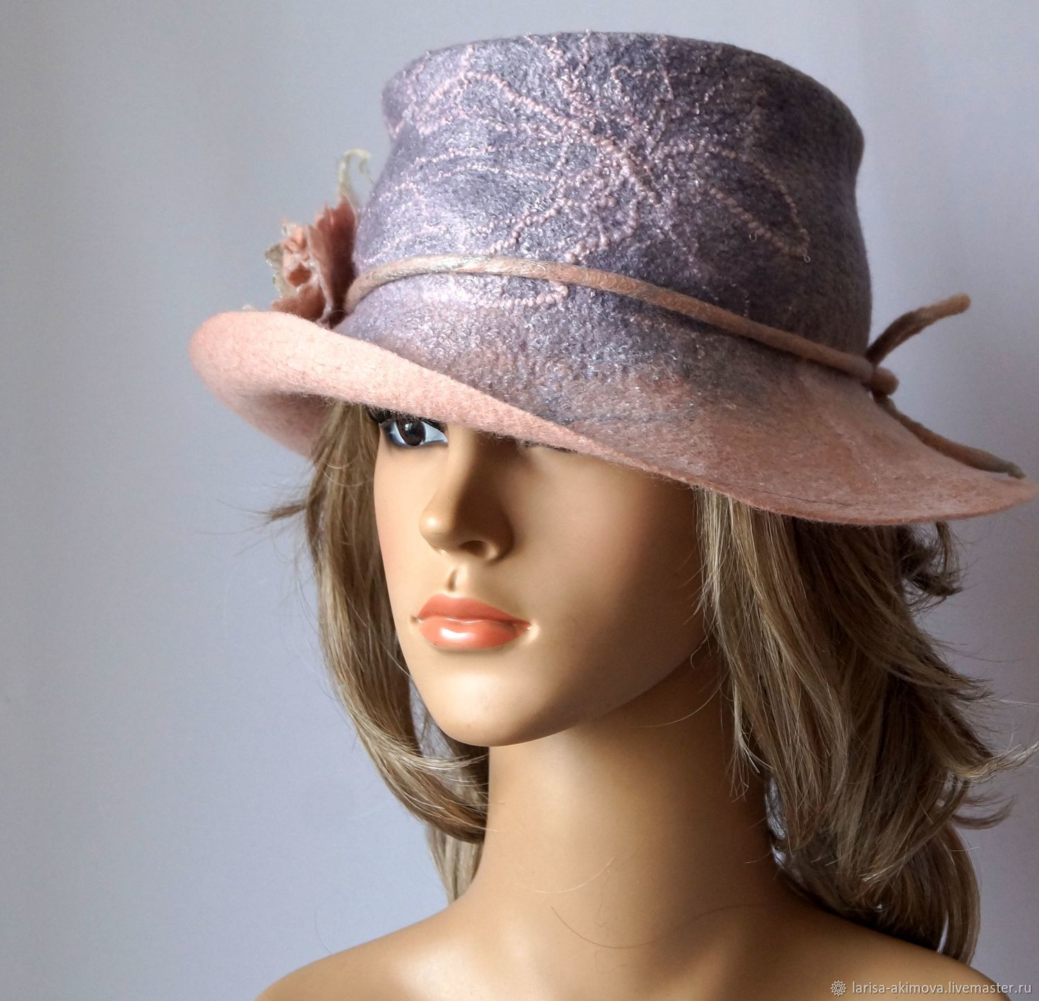 c213bdff6bf27a Fedoras & formal hats handmade. Livemaster - handmade. Buy Felted hat  Ladies whim, ...