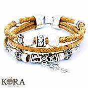 Украшения handmade. Livemaster - original item Bracelet of Portuguese cork