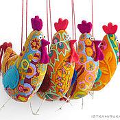 Куклы и игрушки ручной работы. Ярмарка Мастеров - ручная работа ПЕТУХ ПРАЗДНИЧНЫЙ. Handmade.
