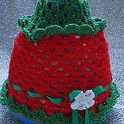 """Работы для детей, ручной работы. Ярмарка Мастеров - ручная работа летняя шапочка """"Ягодка"""". Handmade."""