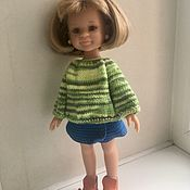 Куклы и игрушки handmade. Livemaster - original item Sweater and skirt for Paola Reina.. Handmade.