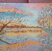 Картины и панно handmade. Livemaster - original item Landscape in pastel colors.. Handmade.