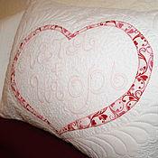 Свадебный салон ручной работы. Ярмарка Мастеров - ручная работа Подушка для влюбленных. Handmade.