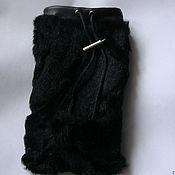 Подарки к праздникам ручной работы. Ярмарка Мастеров - ручная работа Чехол для IPhone, смартфона из натурального меха. Handmade.