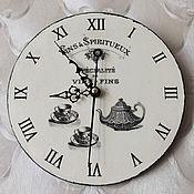 Для дома и интерьера ручной работы. Ярмарка Мастеров - ручная работа Часы настенные ФРЕНЧ кухонные. Handmade.