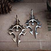 Украшения handmade. Livemaster - original item Pendant Horde. Warcraft. World of Warcraft. brass silver. Handmade.