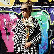 Одежда ручной работы. Ярмарка Мастеров - ручная работа Пальто макси с английским воротником.Из итальянской ткани. Handmade.