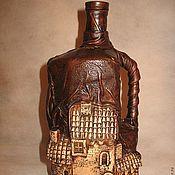 Сувениры и подарки ручной работы. Ярмарка Мастеров - ручная работа Винная бутылка. Handmade.
