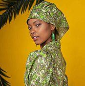 Аксессуары handmade. Livemaster - original item Long scarf womens cotton. Handmade.