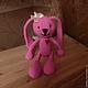 Игрушки животные, ручной работы. Ярмарка Мастеров - ручная работа. Купить Розовое Чудо вязаное. Handmade. Розовый, заяц