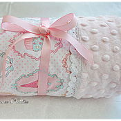 Для дома и интерьера handmade. Livemaster - original item Plaid ice cream, for baby, blanket for baby. Handmade.