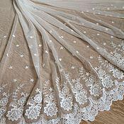 Материалы для творчества handmade. Livemaster - original item Sewing fabric on the mesh