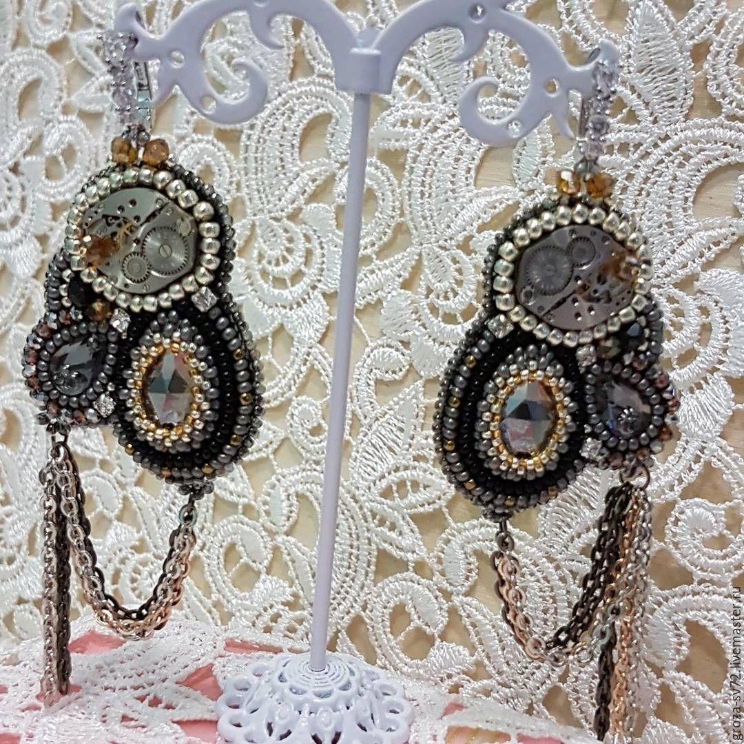 Earrings ' Mechanics', Earrings, Moscow,  Фото №1
