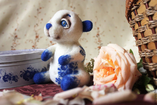 Игрушки животные, ручной работы. Ярмарка Мастеров - ручная работа. Купить Русский мишка Матвей. Handmade. Белый, медведь