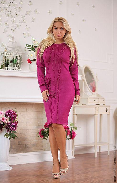 Dresses handmade. Livemaster - handmade. Buy Dress 'Spring'.Knit dress